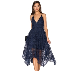Geo Floral Lace Ball Dress by Nicholas in Shadowhunters