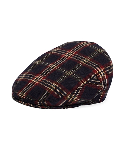 Signature Tartan Plaid Wool Ivy Cap by Brooks Brothers in Scream Queens