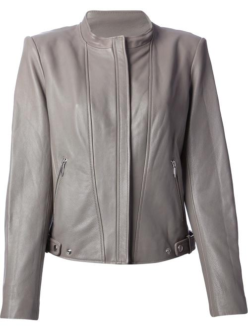 Classic Biker Jacket by Theyskens' Theory in The Other Woman
