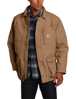 Sandstone Rancher Coat by Carhartt in Maze Runner: The Scorch Trials