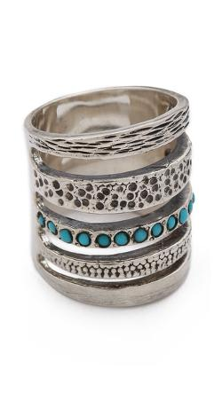 Sterling Silver & Turquoise by Pamela Love in About Last Night
