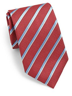 Striped Silk Tie by Canali in Shutter Island