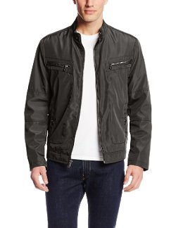 Bonded Moto Jacket by Kenneth Cole Reaction in The Gunman