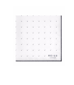 Helmar Silk Dotted Pocket Square by Reiss in Master of None