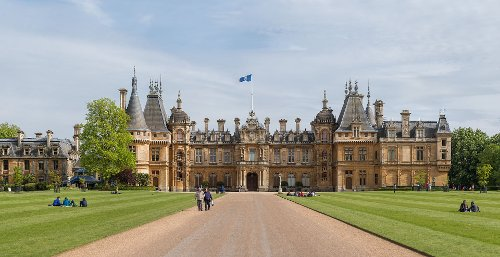 Waddesdon Manor (Depicted as Hotel Du Triomphe) Buckinghamshire, England in Sherlock Holmes: A Game of Shadows