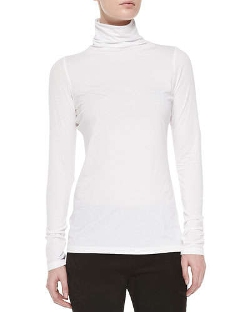 Favorite Slim Lightweight Turtleneck Sweater by Vince in Dope