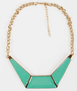 Statement Necklace by BKE in Trainwreck