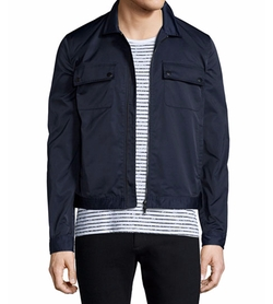Tech Zip-Up Shirt Jacket by ATM Anthony Thomas Melillo in Quantico