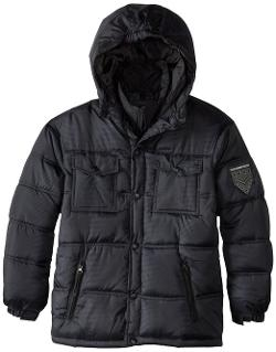 Little Boys' Puffer Jacket by Weatherproof in Couple's Retreat
