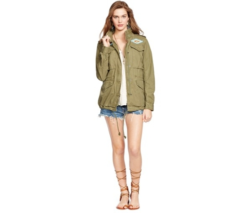 Beaded Field Jacket by Denim & Supply Ralph Lauren in Mean Girls