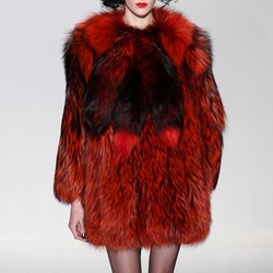 FW15 Fur Coat by Georgine in Empire