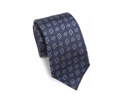 Diamond Silk Tie by Isaia in The Blacklist