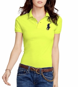 Skinny-Fit Big Pony Polo Shirt by Polo Ralph Lauren in Pitch Perfect 3