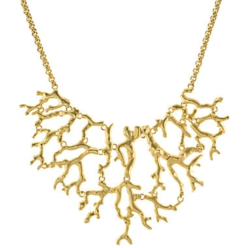 Branch Bib Necklace by KJL By Kenneth Jay Lane in The Flash - Season 2 Episode 5