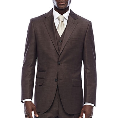 Shantung Suit Jacket by Steve Harvey in Chelsea - Season 1 Episode 3