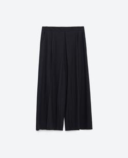 Striped Culottes Pants by Zara in Scream Queens