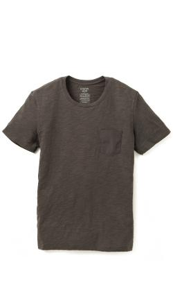 Woven Pocket T-Shirt by Vince in Project Almanac
