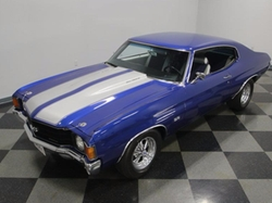 1972 Chevelle Coupe by Chevrolet in Preacher