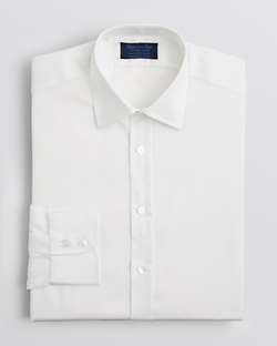 Solid Royal Oxford Dress Shirt by Hilditch & Key in Suits