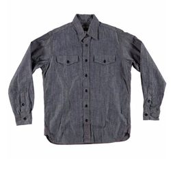 Esquire Chambray Workshirt by Jean Shop in Quantico