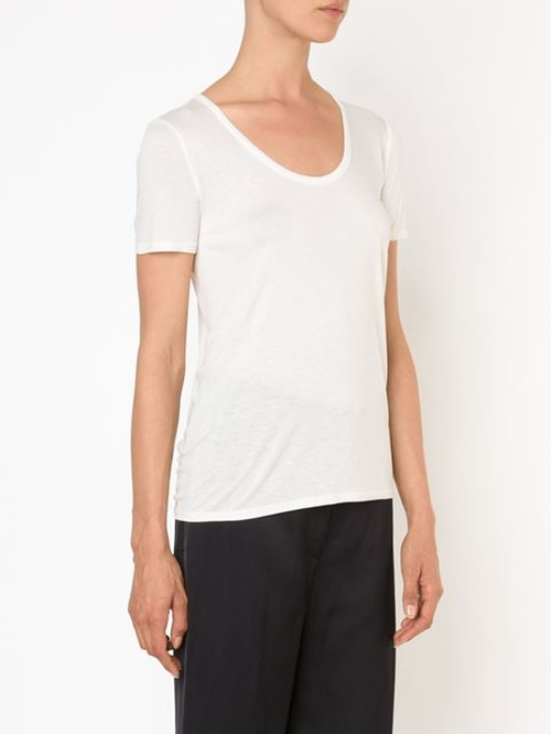 'Stilton' T-Shirt by The Row in Burnt