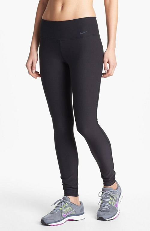'Legend 2.0 Poly' Leggings by Nike in Entourage