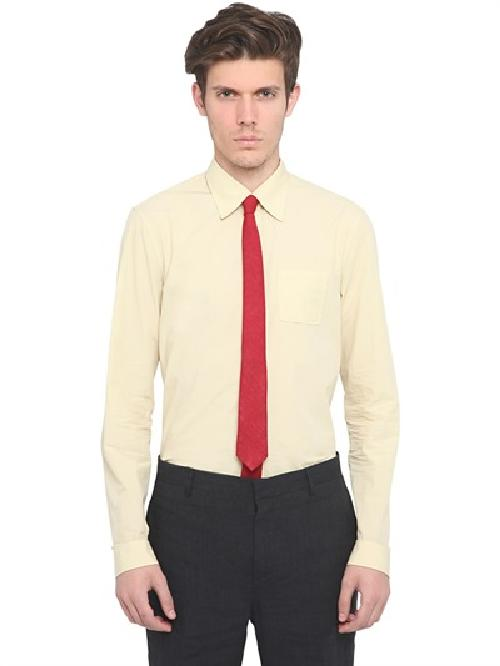 COTTON POPLIN POCKET SHIRT by BURBERRY PRORSUM in The Wolf of Wall Street