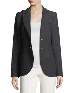 Mottled Wool-Flannel Blazer by PS by Paul Smith in How To Get Away With Murder
