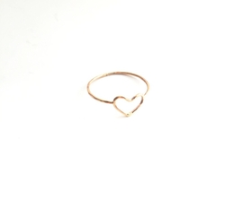 Sweet Heart Ring by Jules Vance Jewelry in The Bachelorette