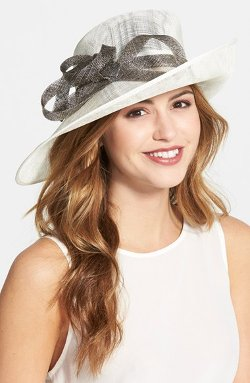 Sinamay Hat by Nordstrom in The Best of Me