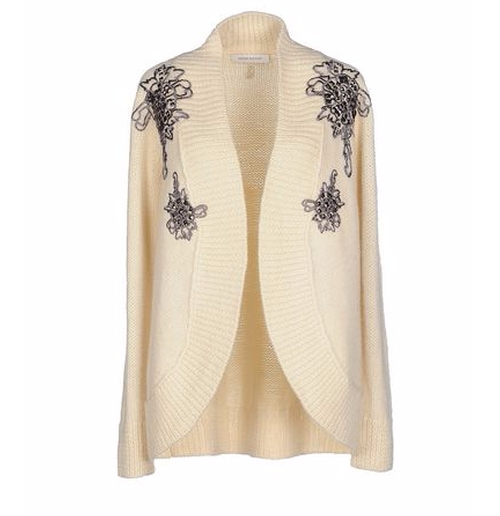 Knitted Cardigan by Pierre Balmain in Keeping Up With The Kardashians - Season 12 Episode 5