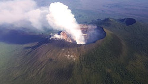 Mount Nyiragongo Goma, Congo in The Secret Life of Walter Mitty