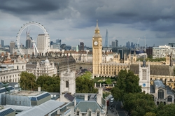 London, United Kingdom by Big Ben in The Bourne Ultimatum
