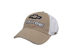 Chevrolet Mesh Trucker Hat by Hot Shirts in Ballers