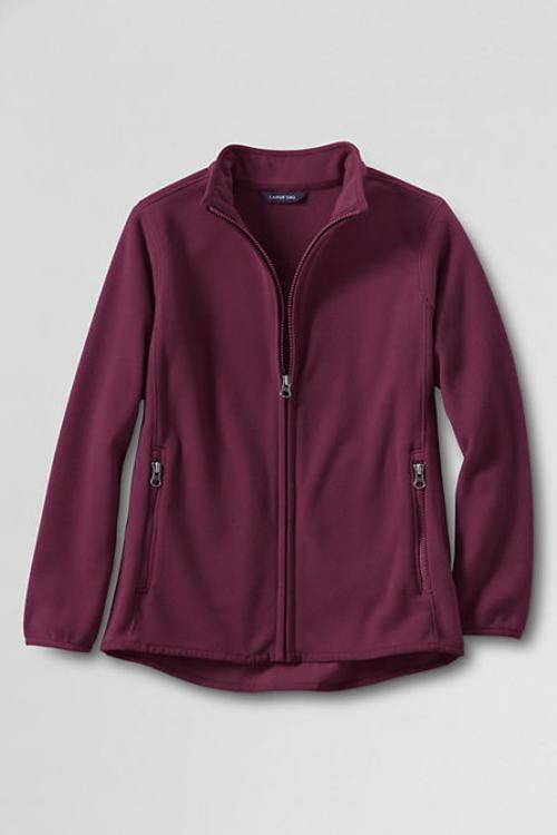 School Uniform Men's T-200 Fleece Jacket by LANDS' END in Million Dollar Arm