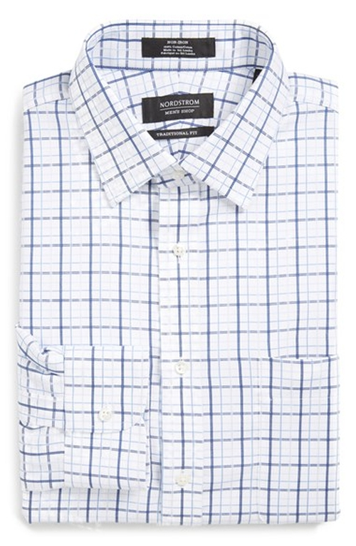 Plaid Dress Shirt by Nordstrom in She's The Man