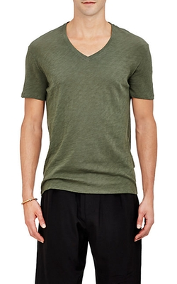 Slub Jersey T-Shirt by ATM Anthony Thomas Melillo in The Mindy Project
