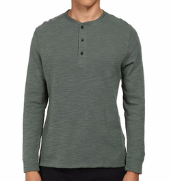 Hunter Henley Shirt by Billy Reid in New Girl