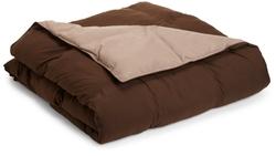 All Season Down Alternative Queen Reversible Comforter by Grand Down in Trainwreck