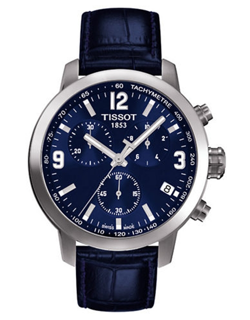 Mens PRC 200 Chronograph Quartz Sport Watch by Tissot in Entourage