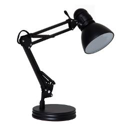 Architect Swing Arm Desk Lamp, Black by Boston Harbor in A Walk Among The Tombstones