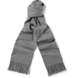 Canada Mélange Wool Scarf by Acne Studios in Empire