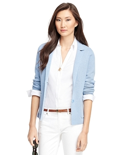 Merino Wool Sweater Blazer by Brooks Brothers in Bridesmaids