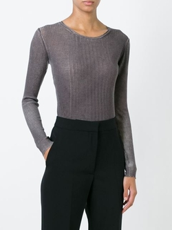 Fine Knit Sweater by Prada Vintage in Supergirl