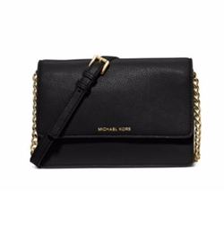Daniela Small Leather Crossbody Bag by Michael Michael Kors in Fuller House