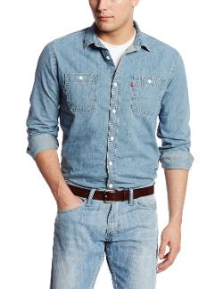 Men's Standard Denim Workshirt by Levi's in Get On Up