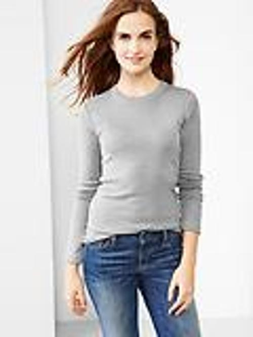 Supersoft Crewneck T-Shirt by Gap in Couple's Retreat