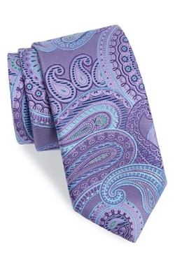 'Beasley Pine' Paisley Silk Tie by John W. Nordstrom in Suits