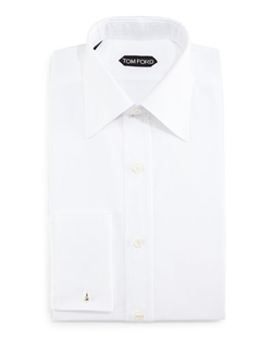 Classic Slim-Fit Classic Dress Shirt by Tom Ford in Demolition