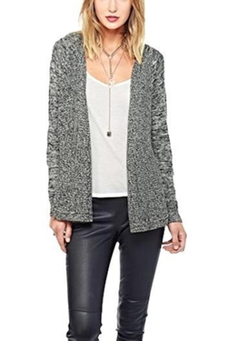Marled Knit Cardigan by BB Dakota in The Intern
